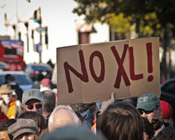 Keystone XL and Green Messaging