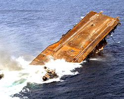 Sinking Toxic Ships