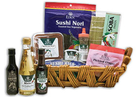 Green Valentine's Day Delights From Good-for-you Chocolate to Personalized Tea, to a Sushi Basket and a Heart on a Dish