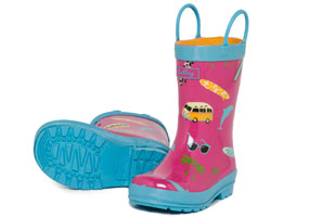 Puddle Jumpers The Best Rubber—and Recycled—Rain Boots