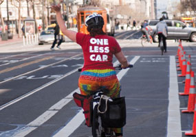bike-friendly cities © San Francisco Bike Coalition