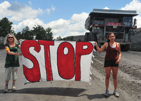 mountaintop removal © Mark Schmerling