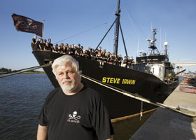 Captain Paul Watson, defender of the seas' width=