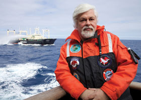 Captain Paul Watson, defender of the seas