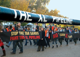 Keystone XL © Photos: John Durkan/MCLA Beacon