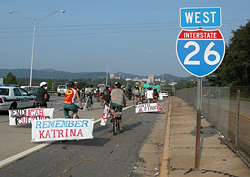 2,500 Bicyclists Take to Streets on Katrina Anniversary