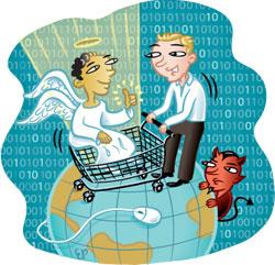 online shopping © Elizabeth Prager