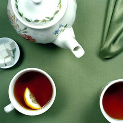 Giving New Meaning to Green Tea