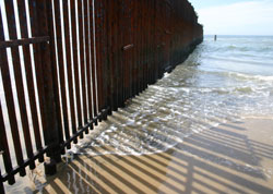 Rushing the Border Fence