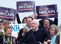 McCain Woos Green Vote