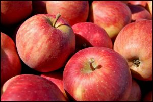 Apples with Pesticides, Credit: Tom Gill, FlickrCC