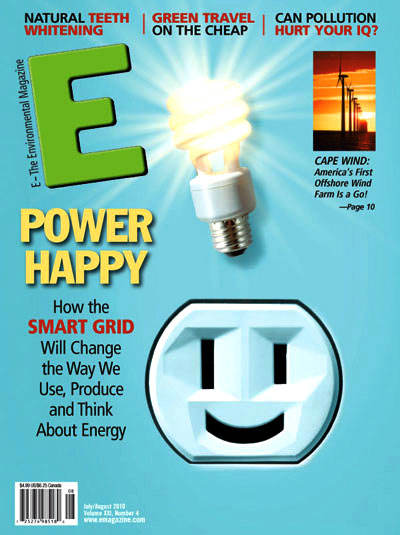 E-The Environmental Magazine, July-August 2010