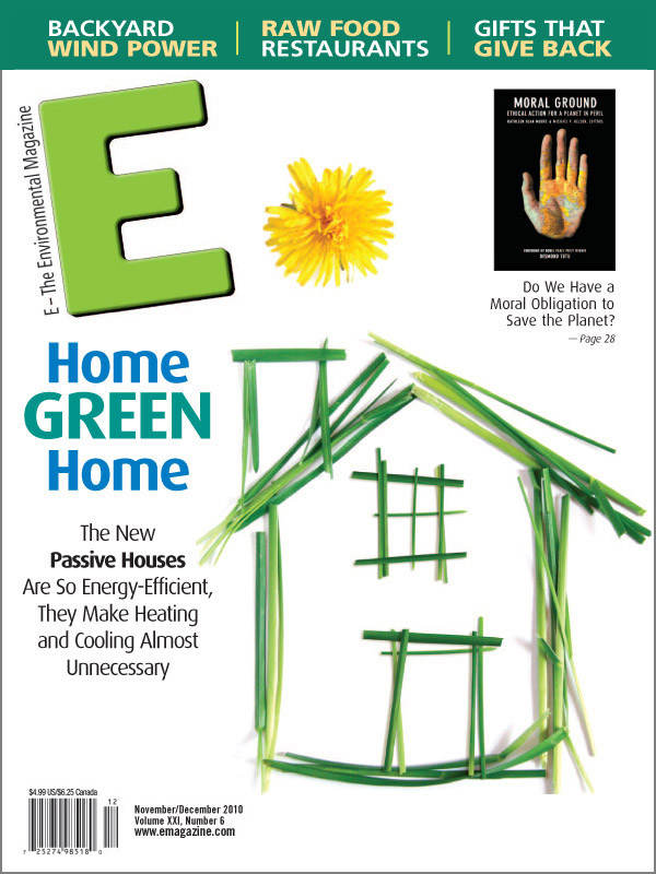 E - The Environmental Magazine, November-December 2010