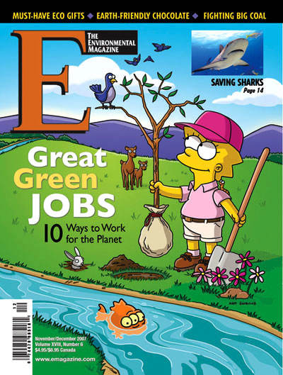 E - The Environmental Magazine : November-December 2007