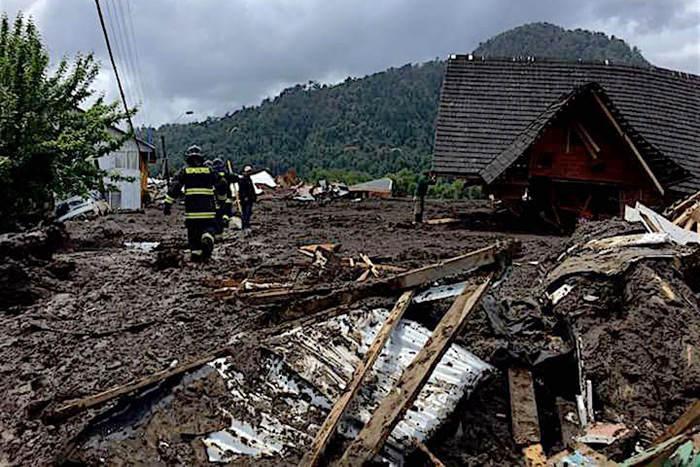 Santa Lucia mudslide