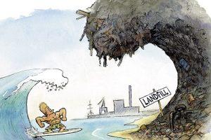 Surfing Landfill