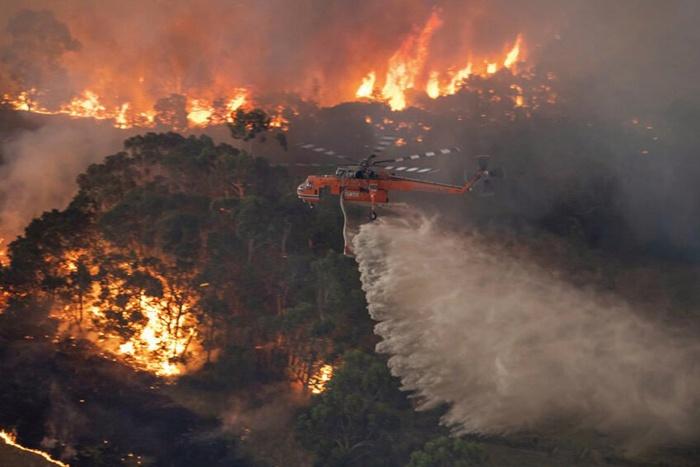 Australian wildfires. Credit: Ninian Reid, FlickrCC