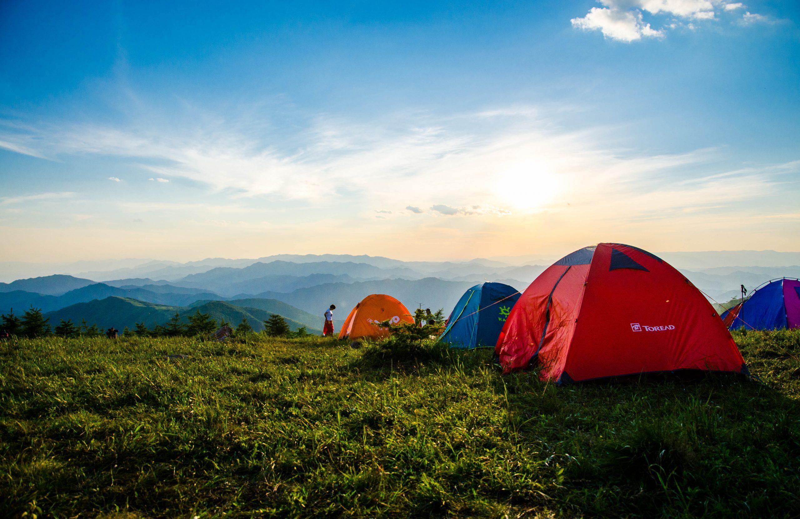 camping. credit: pexels.com