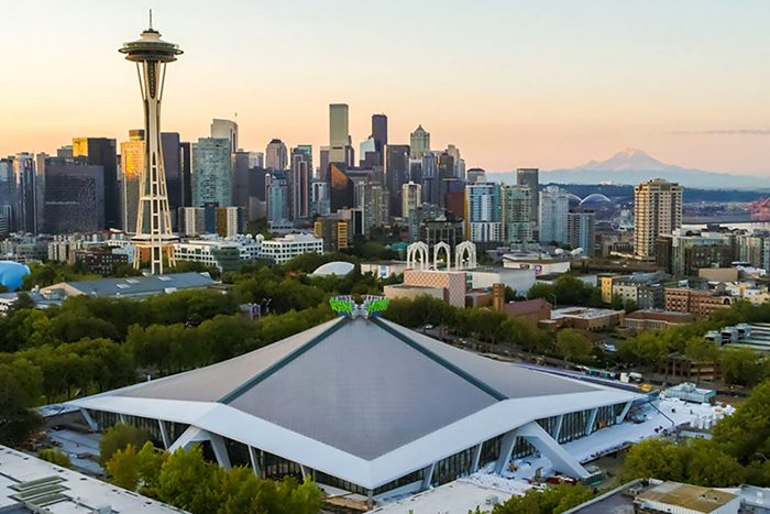 Hockey Goes Green At Seattle's Climate Pledge Arena