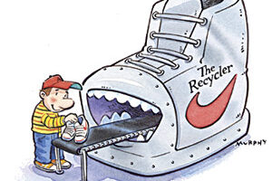 Airplane Pollution, Reusing Shoes and Biomass Energy