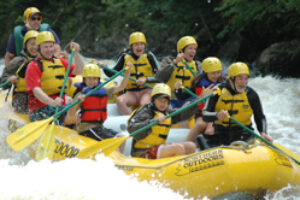 Rafting the Kennebec: White Water and Adventure Tourism